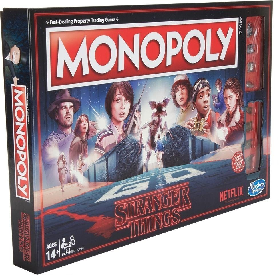 Stranger Things; Monopoly; board games