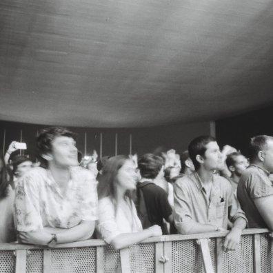 Público no palco EDP