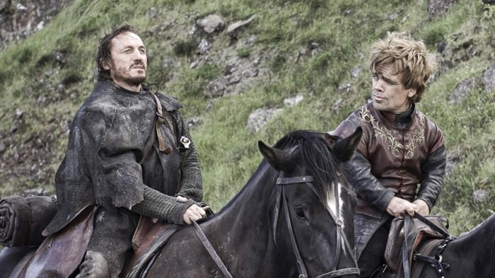 Tyrion Lannister and Bronn; Game of Thrones; season 7