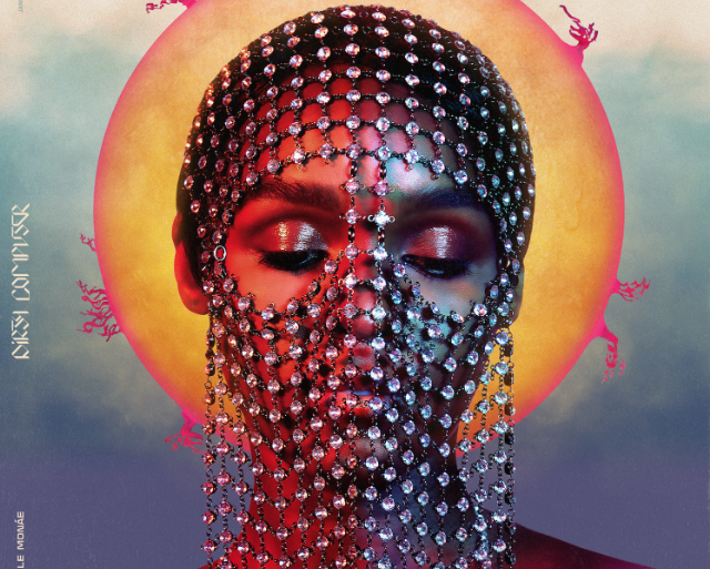 Capa do álbum Dirty Computer, de Janelle Monáe