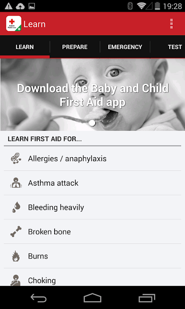 Fonte: First Aid/Playstore
