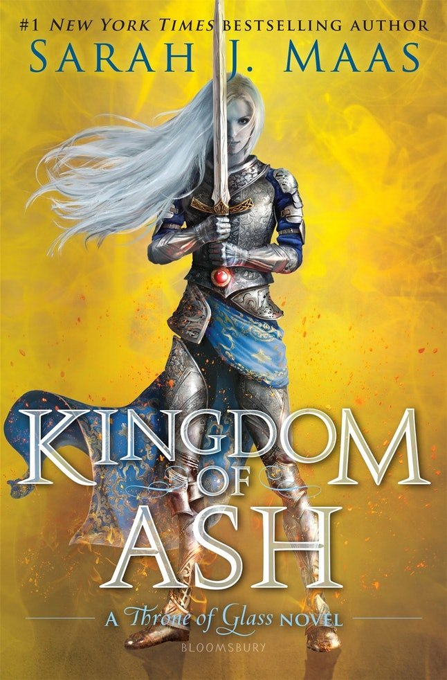 'Kingdom of Ash' by Sarah J. Maas (Oct. 23)
