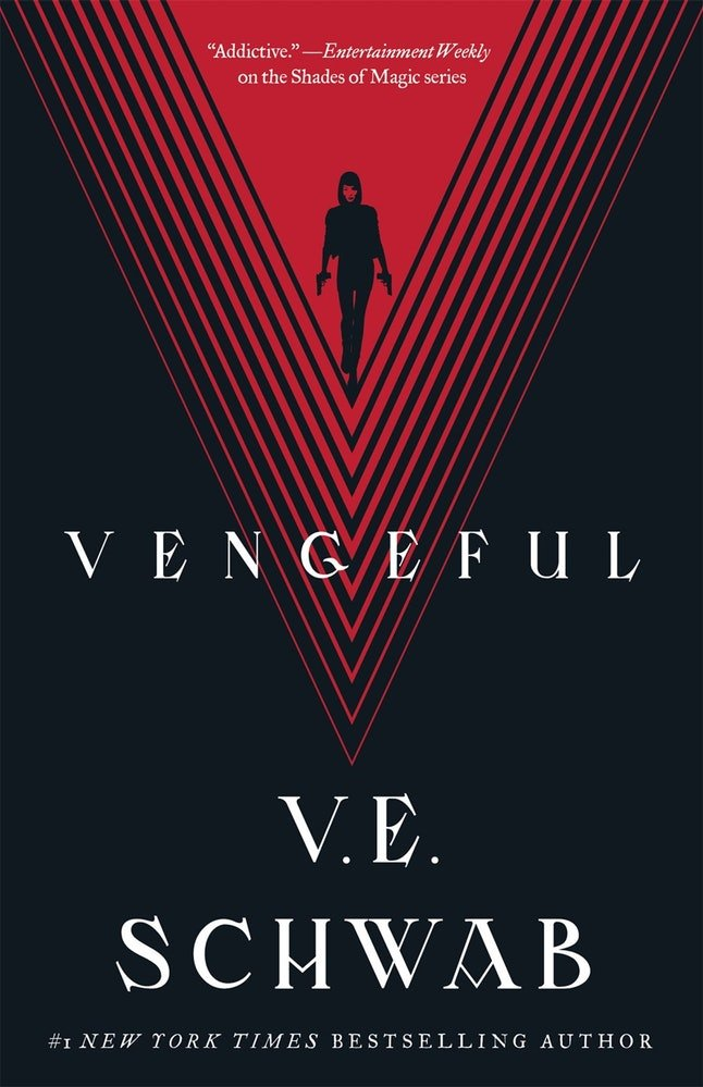 'Vengeful' by V.E. Schwab (Sept. 25)