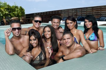 elenco de jersey shore 2009 mtv