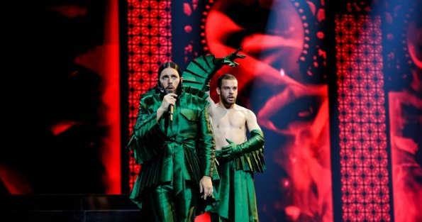 Portugal. Fonte: Thomas Hanses/Eurovision TV
