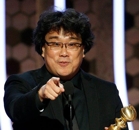 Bong Joon-ho nos Golden Globes
