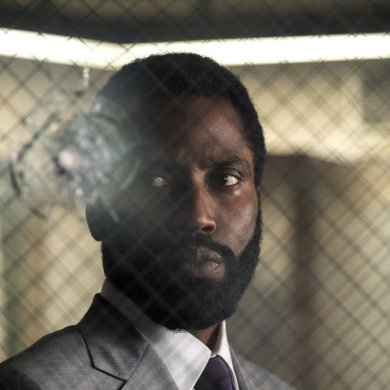 John David Washington em Tenet, o novo filme de Christopher Nolan