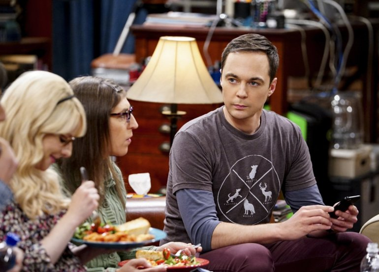 Jim Parsons em The Big Bang Theory