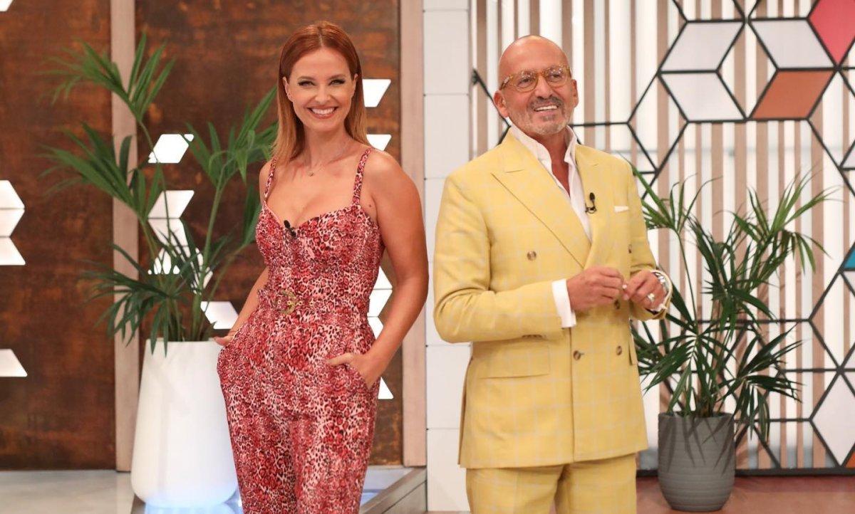 Cristina Ferreira e Manuel Luís Goucha Você na TV!