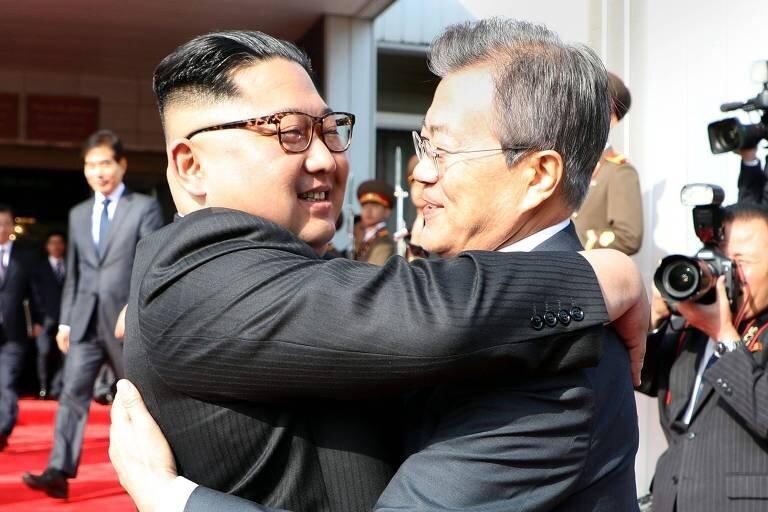 kim jong un moon jae in coreia