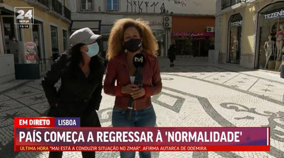 Conceição Queiroz é insultada em direto