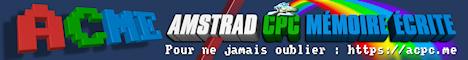 Amstrad CPC Mémoire Écrite