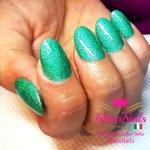 IshtarNails Glammy Gel Mermaid 02 Aquamarine Extrem Crystal Finish 4