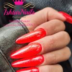 IshtarNails SweetyGel Red Fluo 1