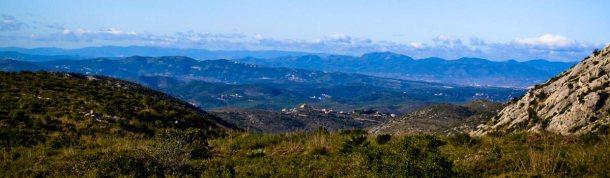 Vista interior del Parc Natural del Garraf