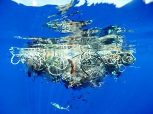 Redes de pesca abandonadas, posos de café, plástico, algodón industrial, neumáticos son algunos de los materiales susceptibles de ser empleados para crear tejidos reciclados.