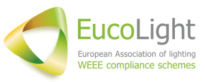 Imagen Corporativa de EucoLight, diseñada por G&G.
