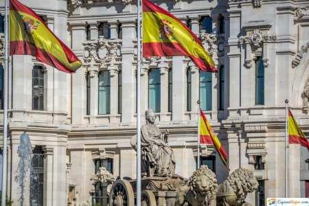 en paseo de la castellana madrid