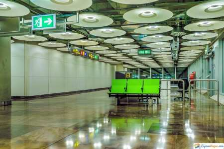 sala aeropuerto de madrid