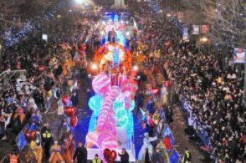 La Cabalgata de Los Reyes Magos en Madrid