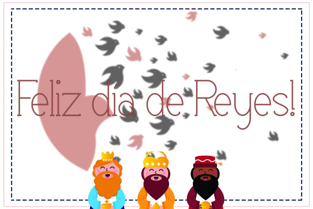 Dia de reis - tradição na espanha