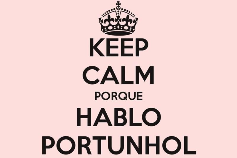 Keep Calm Hablo Portunhol
