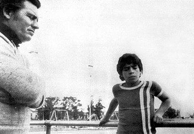 Cornejo e Maradona