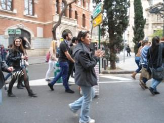 Parlantes en la calle, e itinerantes