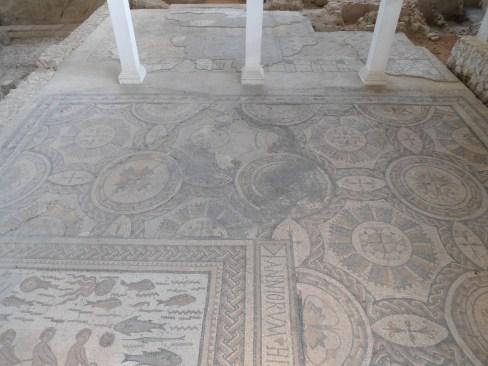 Mosaico en Casa de Hyppolitus