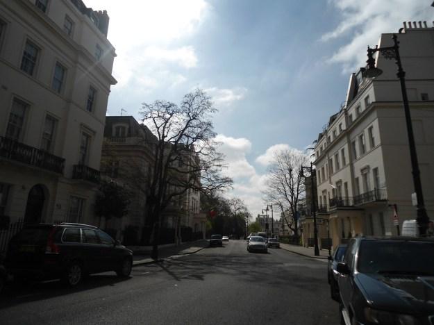 Camino al Hyde Park