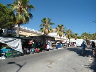 Mercadillo en Puerto Banús