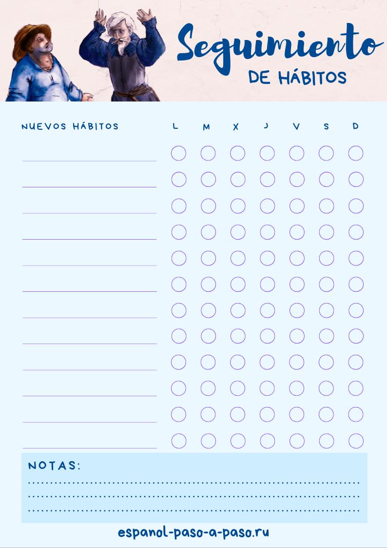 Seguimiento de hábitos (azul)