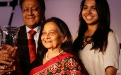 Demostración de Excelencia Global en Filantropía: Dr. Manu Chandaria y Sra. Aruna Chandaria (Parte 1).