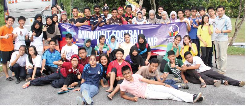 Fútbol de Medianoche en Malasia