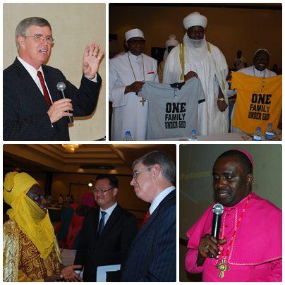 Líderes religiosos de Nigeria y gobernantes tradicionales se unen por la paz