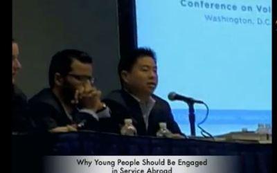 Presidente de GPYC-USA Afirma que el Servicio Educa al Carácter durante la Conferencia Nacional de Voluntariado y Servicio