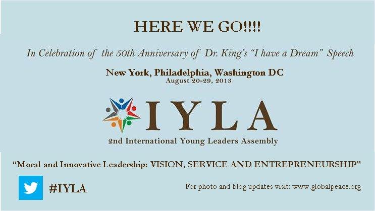 Asamblea Internacional de Lideres Jóvenes: Una Práctica del Liderazgo Moral e Innovador