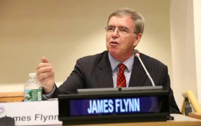 Discurso de James Flynn, Presidente Internacional de GPF en la ONU durante la Asamblea Internacional de Líderes Jóvenes