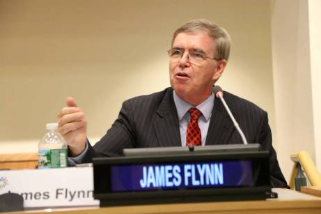 James Flynn, Presidente Internacional de GPF