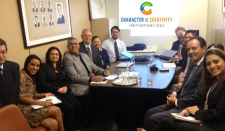 Lanzamiento oficial de la Iniciativa de Carácter y Creatividad en Brasil
