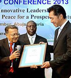 Dr. Hyun Jin Moon, Fundador y Presidente de la Fundación Paz Global, dice que la resolución duradera para el conflicto basado en la identidad debe estar arraigado en la fe