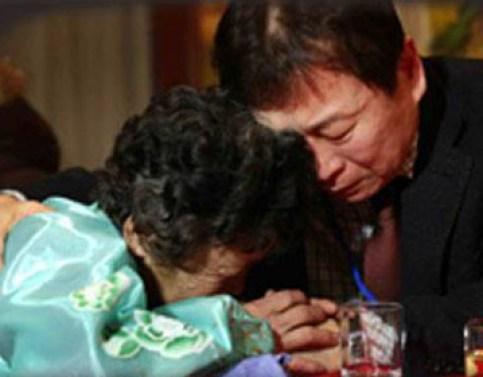 Las reuniones para las familias dividas de Corea del Norte y Sur son pocas y siempre son muy cortas.