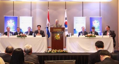 """Foto del Simposio Internacional: """"Hacia una Alianza entre Paraguay y Corea del Sur"""""""