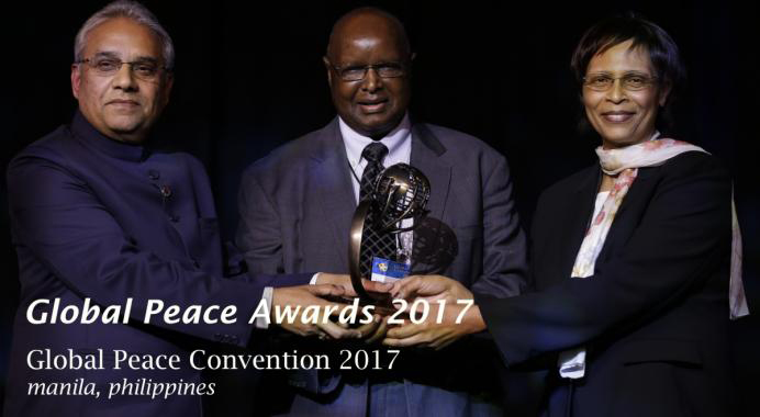 PREMIOS PAZ GLOBAL 2017: RECONOCIENDO LOS PRECEDENTES DE LOS LÍDERES MORALES E INNOVADORES