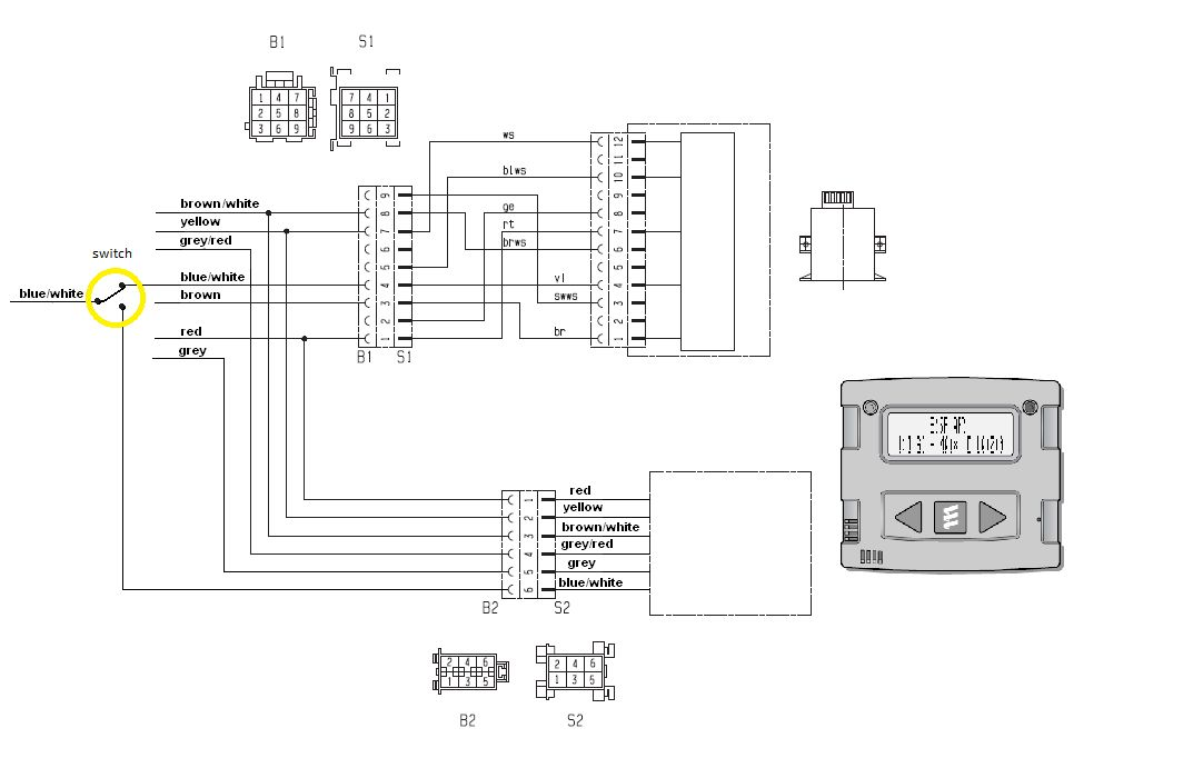 webasto switch wiring diagram