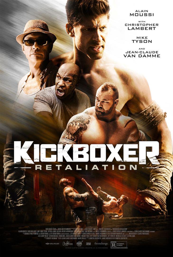 Kickboxer contraataque poster