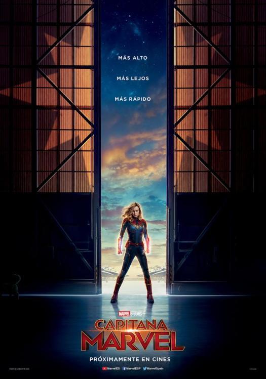 Capitana Marvel poster 2