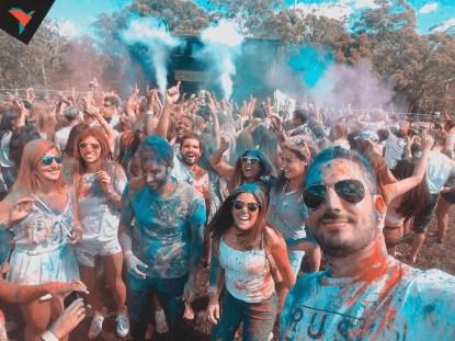 Color Fest con amigos