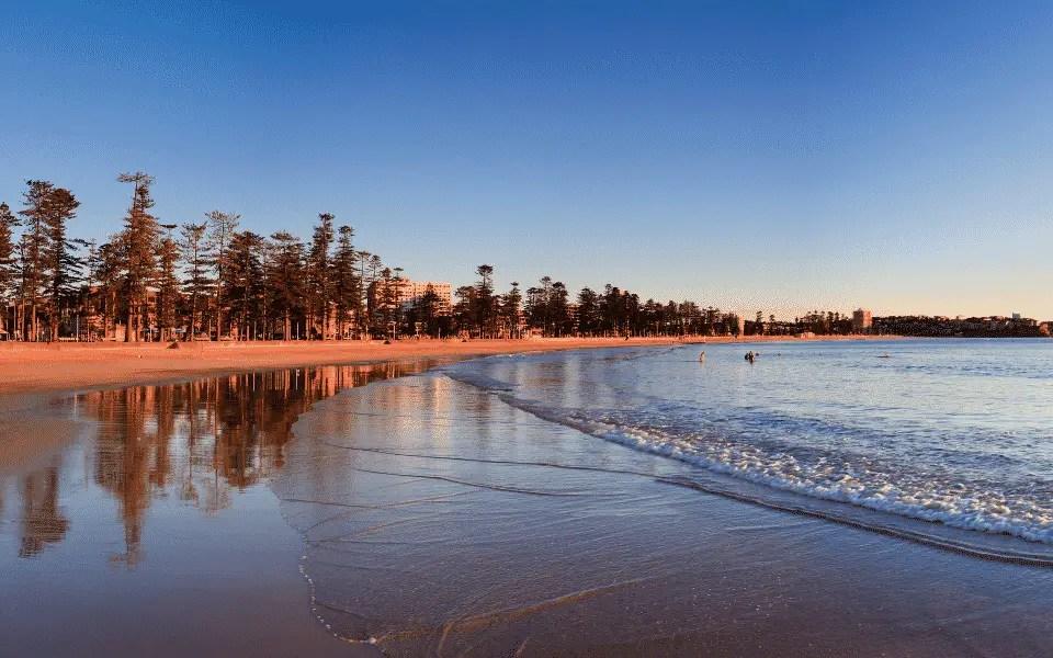 Manly una de las mejores playas de sydney