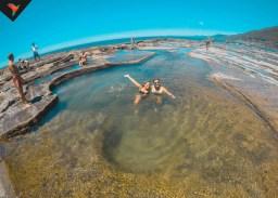 Otra de las piscinas naturales del parque
